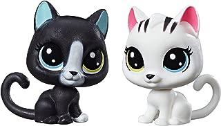 Littlest Pet Shop Black & White Kitten BFFs