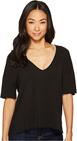 Project Social T - Amelia Raw V-Neck