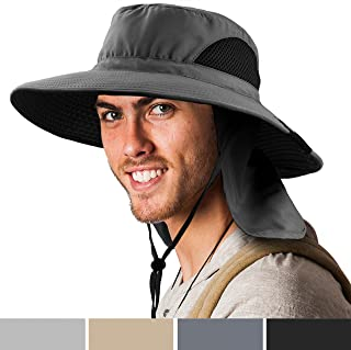 Premium Boonie Hat Wide Brim Sun Hat for Fishing Hiking Outdoor Men Women UPF50+