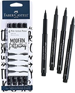 Faber-Castell Design Memory Craft Modern Lettering Pitt Artist Pens - Calligraphy and Hand Lettering Pens