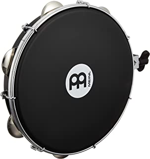 Meinl Percussion PA10A-BK-NH-H 10 اینچ ABS Pandeiro با سر Napa ، قابل نصب