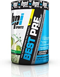 BPI Sports -Ketogenic Pre-Workout Supplement, Apple Pear, 11.11 Ounce