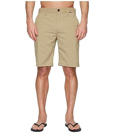 Hurley Dri-FIT Chino Walkshorts 21 (Khaki) Men