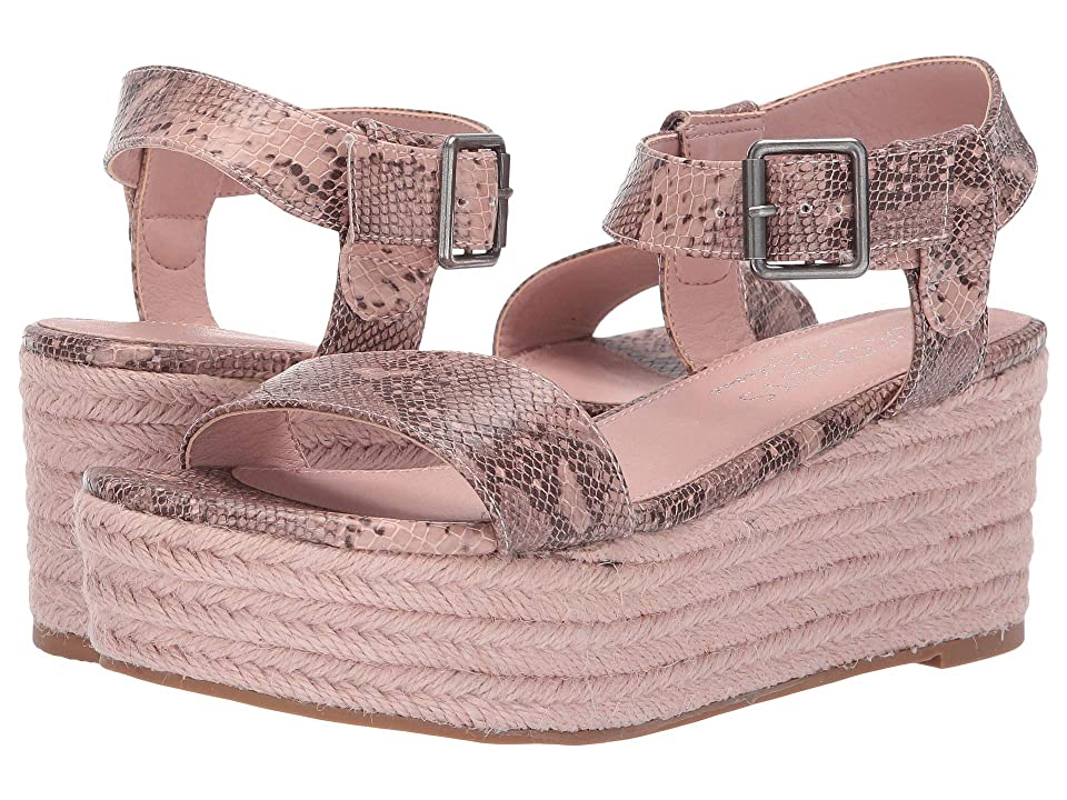 Matisse Coconuts by Matisse Sunchaser Espadrille Sandal (Blush Synthetic) Women
