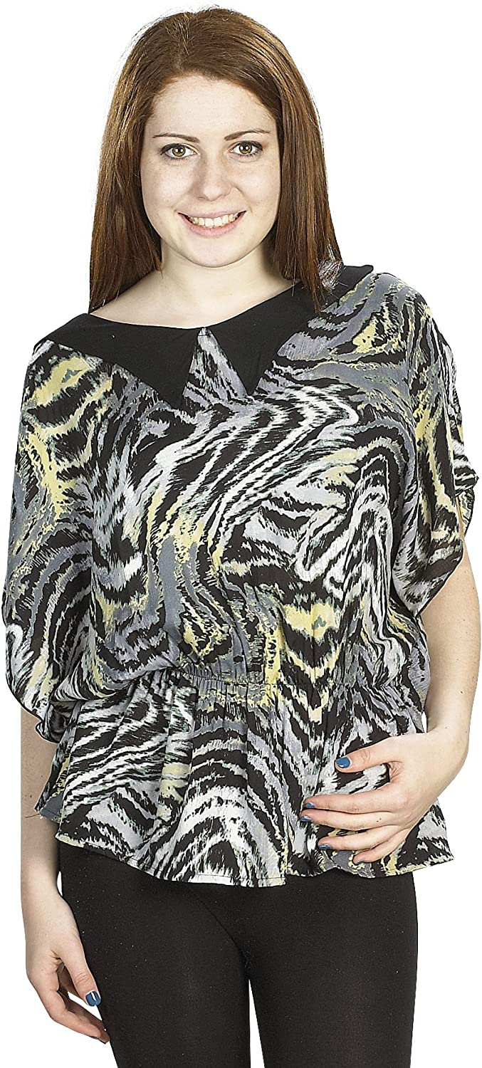 Gilbins Plus Size Al sold out. Ultra Thin Summer Max 74% OFF Flor Chiffon Blouse top with