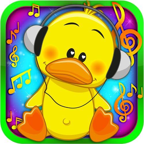 bebé niños ducky canciones de cuna - cuarto de niños de la...
