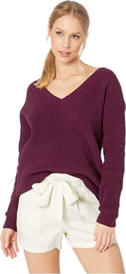 Cool Runnings V-Neck Sweater