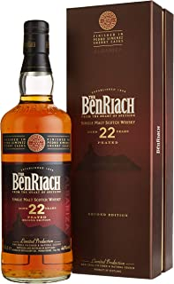 Benriach 22 Years Old PEATED Second Edition ALBARIZA mit Geschenkverpackung Whisky 1 x 0.7 l