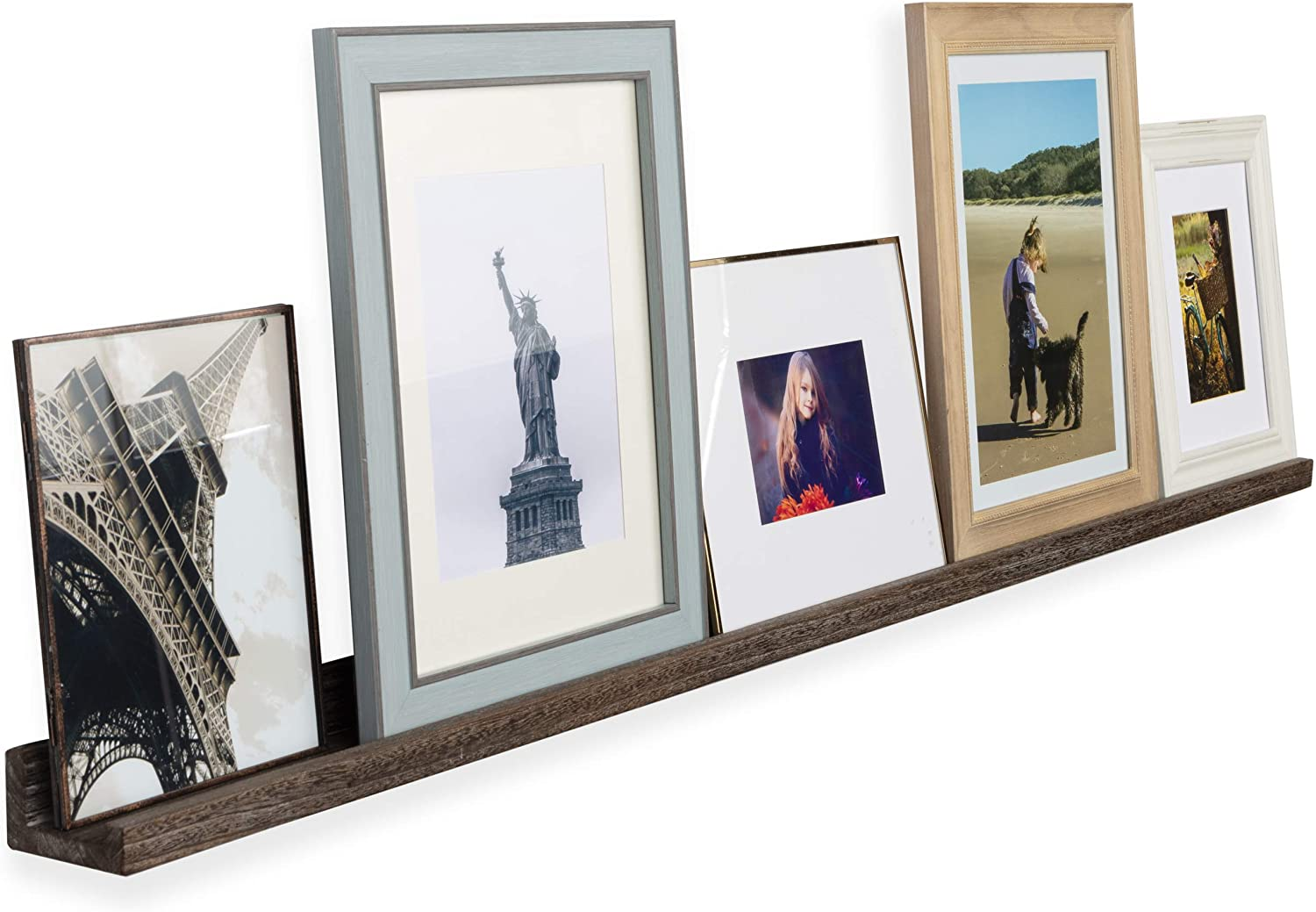 Rustic State Ted Wall 交換無料 Mount Extra Shel いつでも送料無料 Picture Ledge Narrow Long