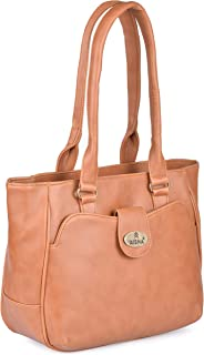 Aisna Women's Kate Handbag(ASN-165)(Tan)