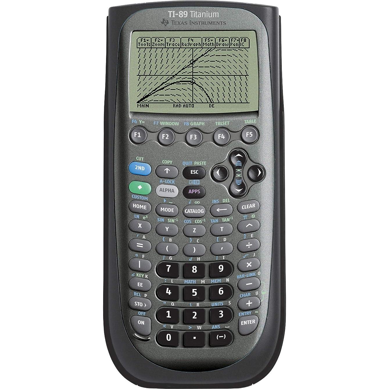 発信ランダム地平線Texas Instruments TI-89 Titanium Graphing Calculator 【米国版】【並行輸入品】