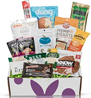 Bunny James Box - Hand Selected Premium Snacks Subscription: Casual Keto