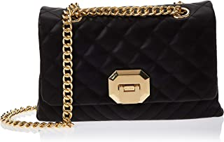 Aldo Flap Bag For Women, Polyester, Black - Menifee98 (23340403)