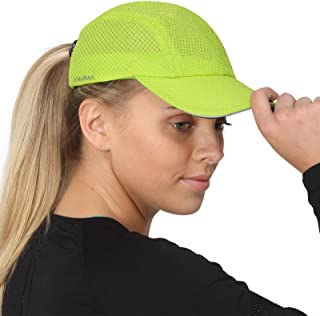 Race Day Performance Running Hat | The Lightweight, Quick Dry, Sport Cap for Women – 7 colors