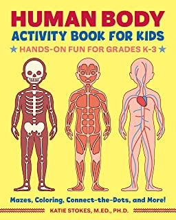 Human Body Activity Book for Kids: Hands-On Fun for Grades K-3