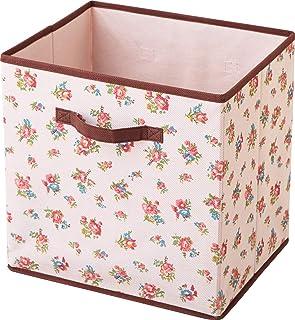 アストロ 収納ボックス A4サイズ 花柄 カラーボックス用 603-09
