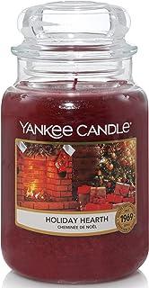 Yankee Candle bougie parfumée | jarre grande | Cheminée de Noël | jusqu'à 150 heures de combustion