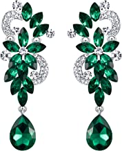 Best green dangling earrings Reviews