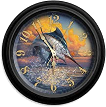 """Reflective Art 16"""" Cure for Anything Classic Clock"""", Multicolor"""