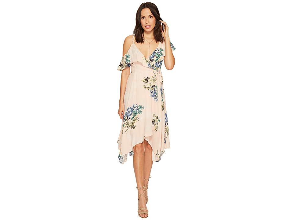 ASTR the Label Yessenia Dress (Blush Multi Floral) Women