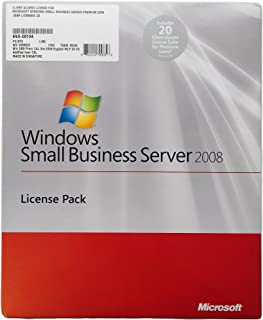 Windows Small Business Server Premium User CAL Suite 2008 English 20 Client AddPak [Old Version]