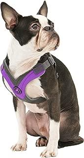 Gooby - Trekking Harness, Small Dog Fleece Lined Harness with Memory Foam Padding