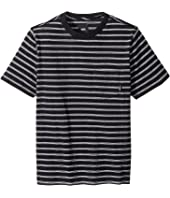 Vans Kids - Lined Up Short Sleeve Knit (Big Kids)