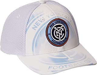 MLS New York City FC Adult Men MLS SP17 Fan Wear White Out Structured Adjustable Cap,OSFM,White