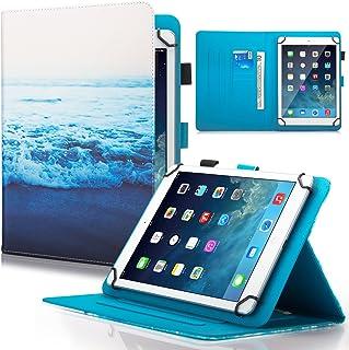 Dteck 7.5-8.5 بوصة جراب عالمي مع [قلم شاشة]، غطاء قابل للطي نحيف لمحفظة لجهاز iPad Mini/Galaxy Tab/HD 8.3 بوصات /Huawei/Le...