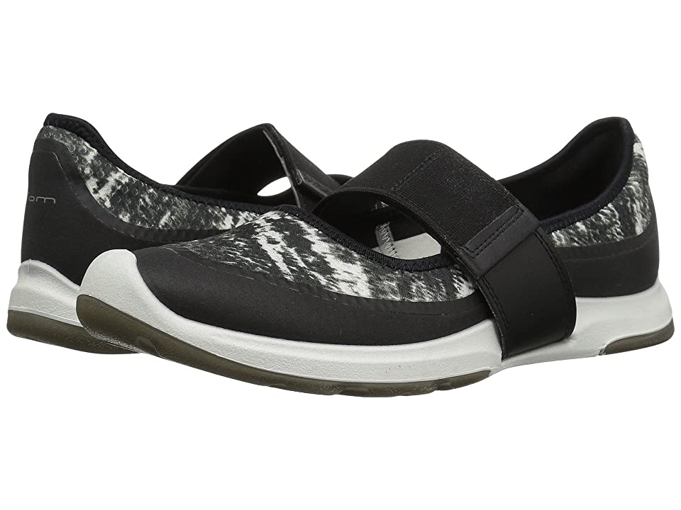 ECCO BIOM Amrap Mary Jane (Black/Black/White) Women