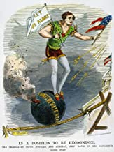 Jefferson Davis Cartoon Namerican Cartoon Of 1861 Shortly After The Confederate Attack On Fort Sumter Depicting Jefferson Davis As A Circus Acrobat In A Delicate Balancing Act Poster Print by (18 x 2