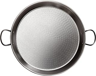 Paellera esmaltada induccion//vitro LA VALENCIANA Hecha en ESPA/ÑA varios tama/ños /Ø36cm 7 raciones
