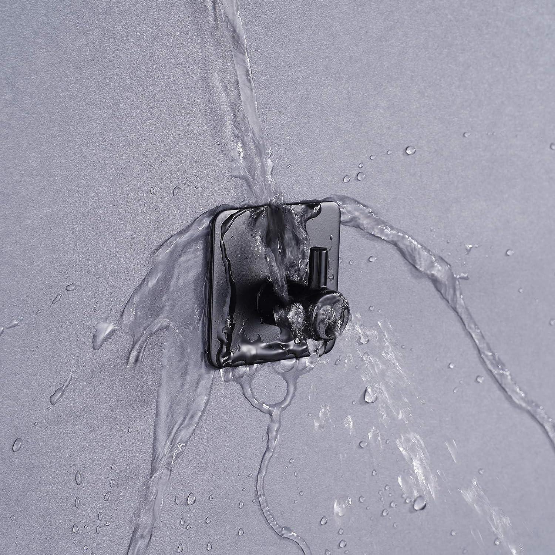 Handtuchhaken ohne Bohren Edelstahl Handtuchhalter Selbstklebend Wandhaken Bademantelhaken Klebehaken f/ür K/üche und Badzimmer Haken Selbstklebende 4 St/ück