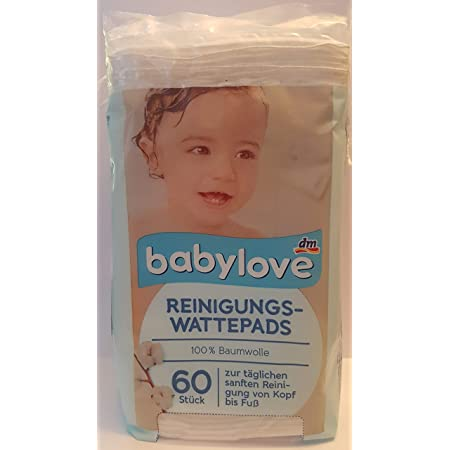 Johnsons Baby-Wattepads insgesamt 600 Pads 12 x 50 St/ück