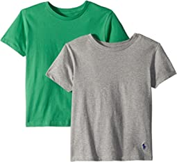 Polo Ralph Lauren Kids - 2-Pack Crew Tee (Little Kids/Big Kids)