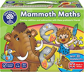 Orchard Games Mammoth Maths Game