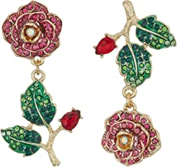 Perfect Non-Matching Rose Earrings