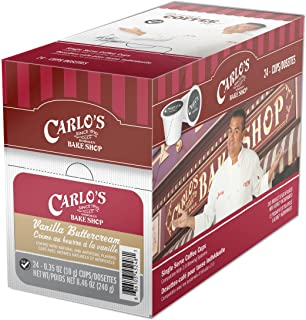 Cake Boss Vanilla Buttercream Coffee Capsule, Compatible with Keurig K-Cup Brewers, 24-Count