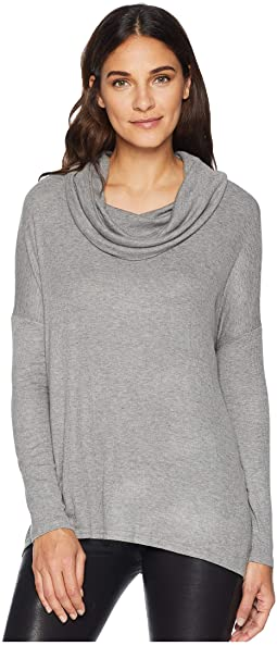 Early Riser Cowl Neck Top