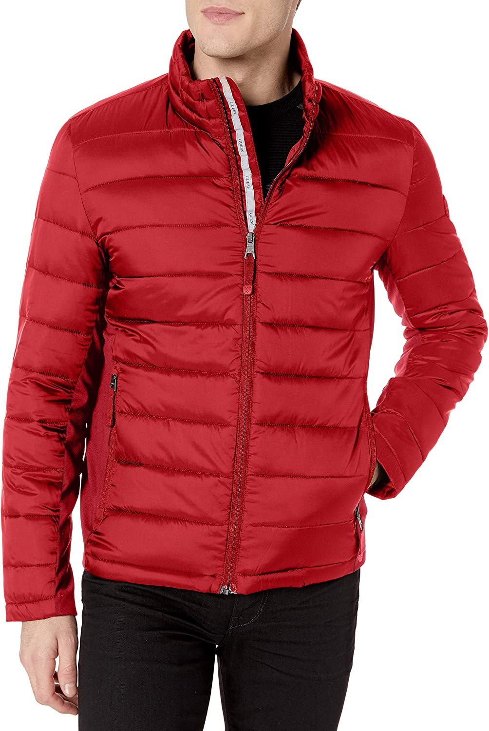 Guess Mens Puffer Bubble Jacket Sizes XS S M L XL XXL All Sizes All Colors BNWT