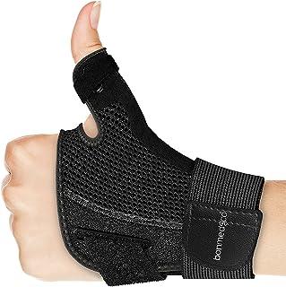 bonmedico Orthèse de pouce flexible Forte, pour articulation du pouce, noir