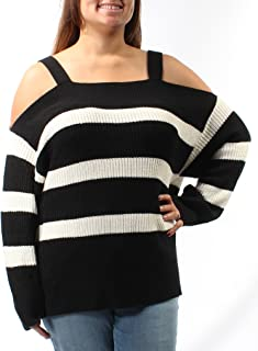 Womens Amelie Cold-Shoulder Knit Sweater