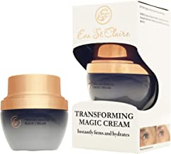 Eva St. Claire Transforming Magic Face Cream. Anti-aging cream with Shea Butter, Jojoba Oil, Aloe Vera and special herbal blend of ingredients reduces the look of wrinkles in 7 days! 1 fl oz (30ml)