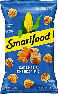 Smartfood Cheddar & Caramel Mix Popcorn, 7 Ounce (Packaging May Vary)