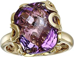 Sea Leaf Amethyst Ring