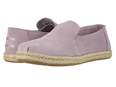 TOMS Deconstructed Alpargata Rope (Burnished Lilac Suede) Women