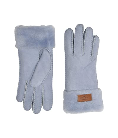 UGG Turn Cuff Water Resistant Sheepskin Gloves (Fresh Air) Extreme Cold Weather Gloves