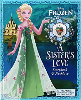 Disney Frozen: A Sister's Love: Storybook & Necklace