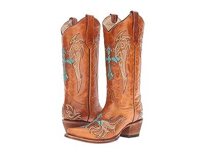 Corral Boots L5104 (Cognac/Turquoise) Women
