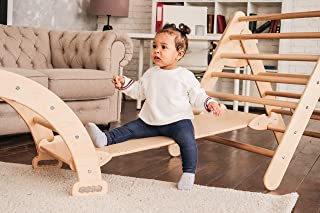 Montessori furniture Set of three items Baby gym Toddler furniture Baby gym New baby gift Toddler furniture Climbing furniture Eco toys